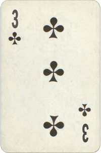 Three of Clubs