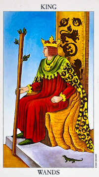 King Of Wands Tarot
