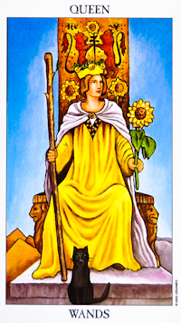 Queen Of Wands Tarot