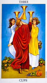 Three Of Cups Tarot