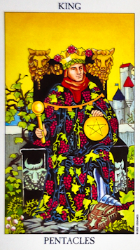 King Of Pentacles Tarot