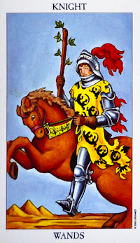 Knight of Wands Tarot