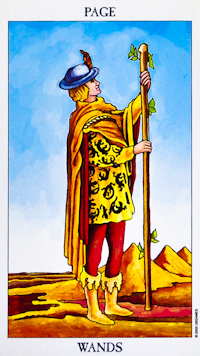 Page of Wands Tarot