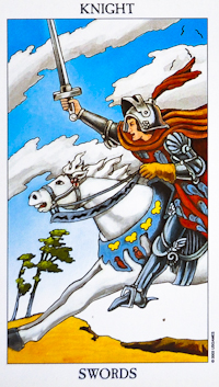 Knight of Swords Tarot