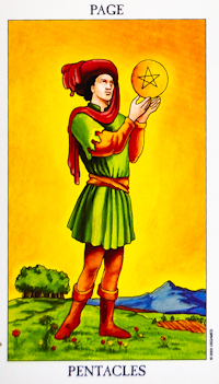 Page of Pentacles Tarot